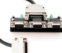LabSat3 locking expansion connector